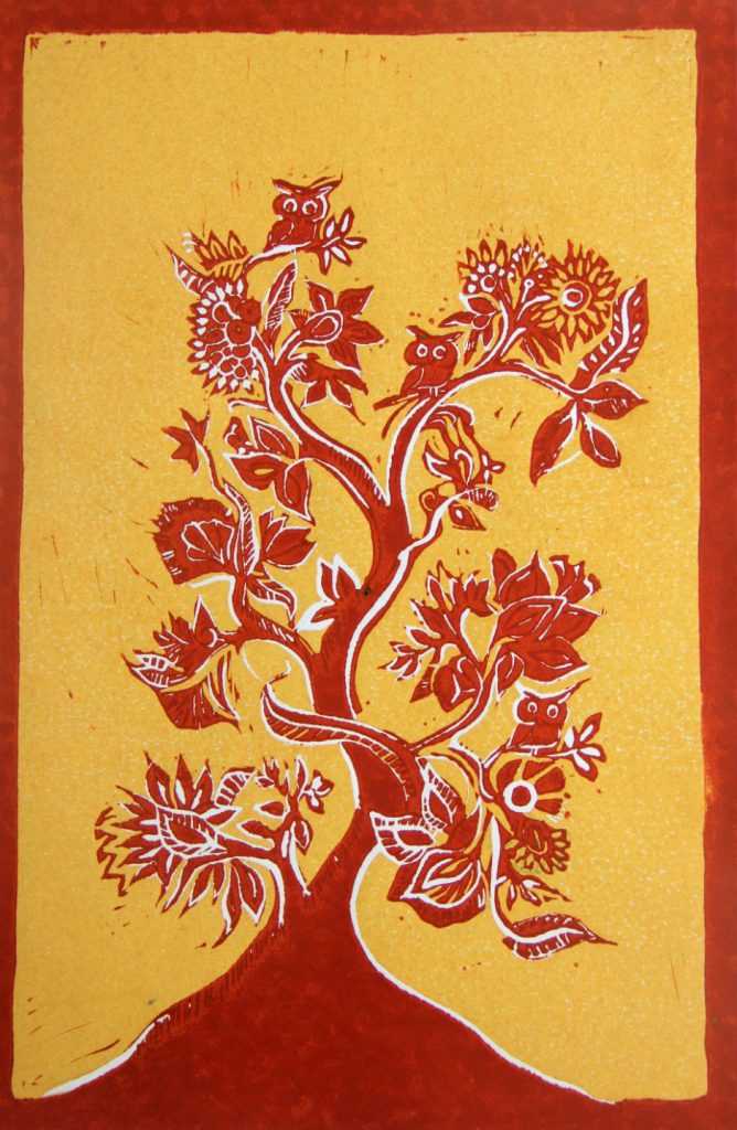Tree of life (sienna)